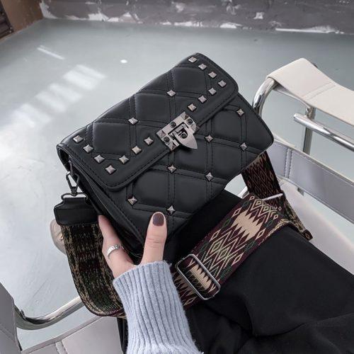 JT7240A-black Tas Selempang Clutch Wanita Elegan Import Terbaru