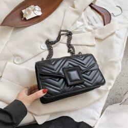 JT732-black Tas Selempang Clutch Wanita Cantik Import