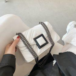 JT732-white Tas Selempang Clutch Wanita Cantik Import