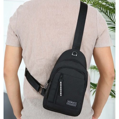 JT7508-black Tas Sling Bag Pria Modis Terbaru