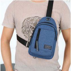 JT7508-blue Tas Sling Bag Pria Modis Terbaru