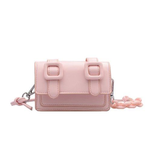 JT7574-pink Tas Selempang Mini Wanita Cantik Terbaru