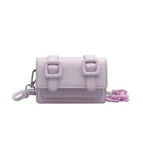 JT7574-purple Tas Selempang Mini Wanita Cantik Terbaru