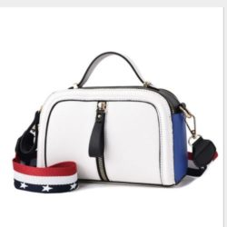 JT7621-white Tas Slingbag Stylish Fashion Import