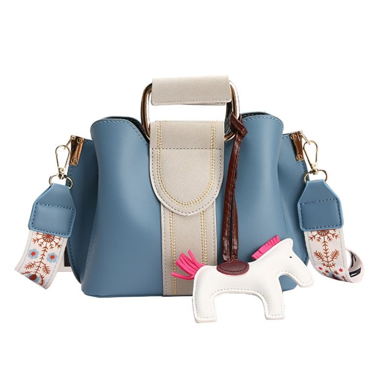 JT76543 IDR.194.000 MATERIAL PU SIZE L20XH17XW10CM WEIGHT 560GR COLOR BLUE