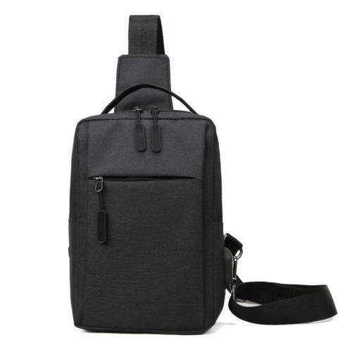 JT7895A-black Tas Sling Bag Pria Modis Keren Terbaru Import