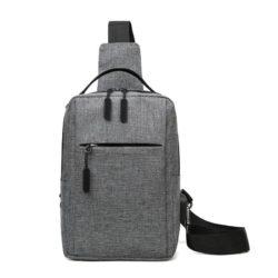 JT7895A-gray Tas Sling Bag Pria Modis Keren Terbaru Import
