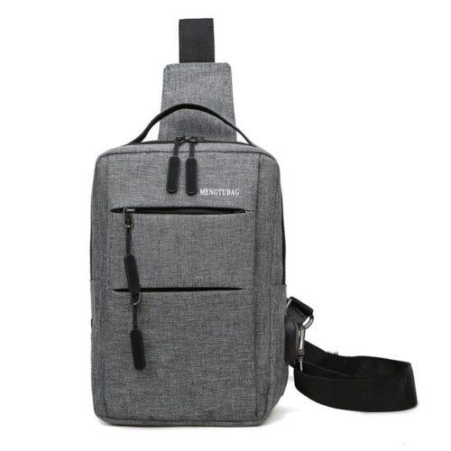 JT7895B-gray Tas Sling Bag Pria Modis Keren Terbaru Import