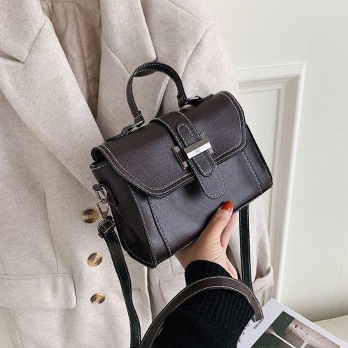 JT7986-coffee Tas Handbag Selempang Fashion Wanita Elegan Import