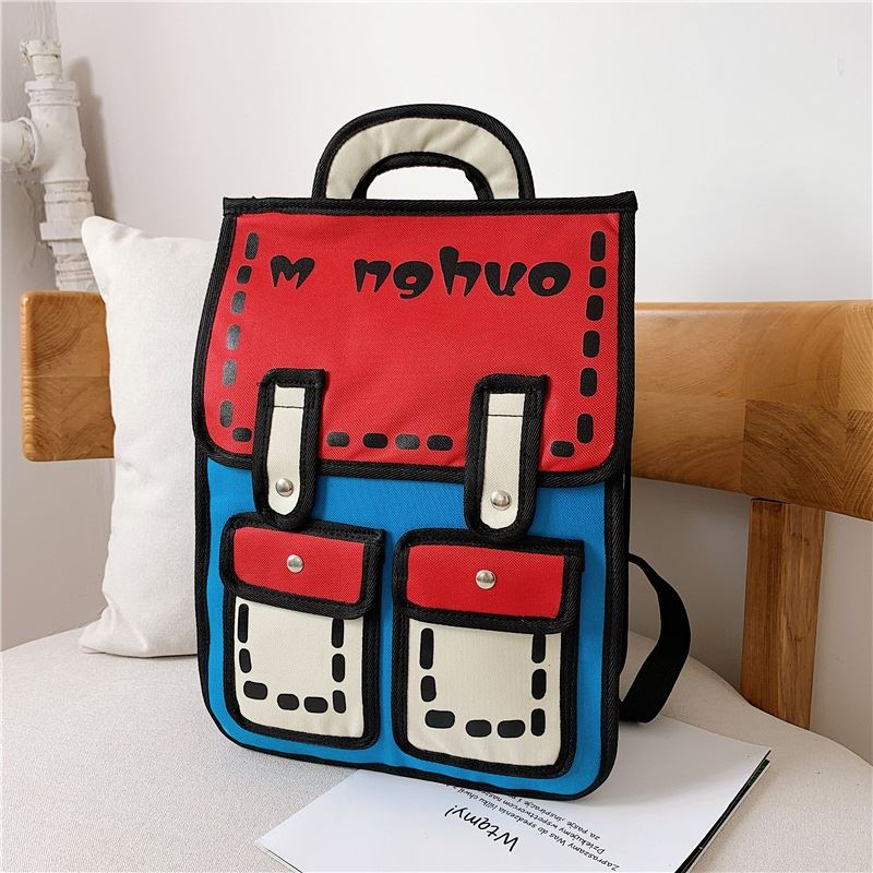 JT800922 IDR.137.000 MATERIAL CANVAS SIZE L30XH39XW11CM WEIGHT 650GR COLOR RED