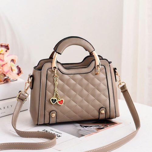JT8011-khaki Tas Handbag Selempang Fashion Import Wanita