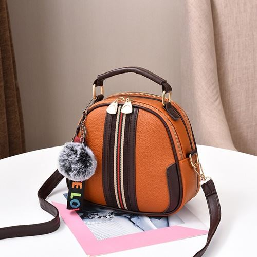 JT80257 IDR.142.000 MATERIAL PU SIZE L20XH19XW11CM WEIGHT 500GR COLOR BROWN