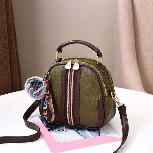 JT80257 IDR.142.000 MATERIAL PU SIZE L20XH19XW11CM WEIGHT 500GR COLOR GREEN