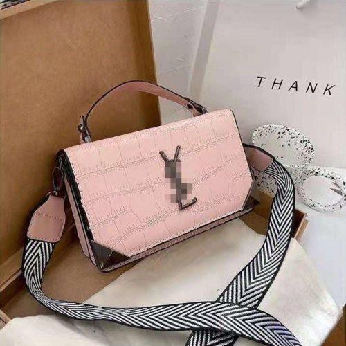 JT80290-pink Tas Handbag Selempang Import Wanita Cantik Terbaru