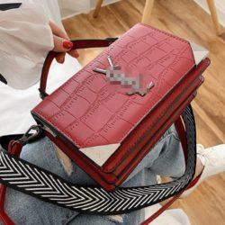 JT80290-red Tas Handbag Selempang Import Wanita Cantik Terbaru