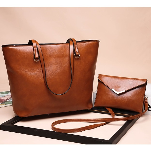JT8059 (2IN1) IDR.185.000 MATERIAL PU SIZE L31XH27X12CM MEDIUM L20.5XH13.5CM WEIGHT 700GR COLOR BROWN (2)