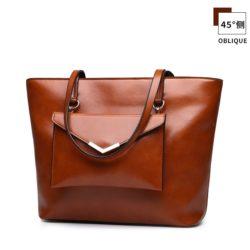 JT8059-brown Tas Handbag Wanita Terbaru Impor