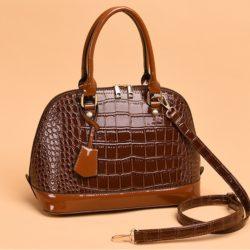 JT8068-brown Tas Handbag Selempang Wanita Modis