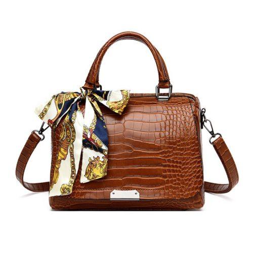 JT8070-brown Tas Selempang Wanita Casual Free Scraft