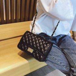 JT8083-black Clutch Bag Fashion Import Wanita Elegan