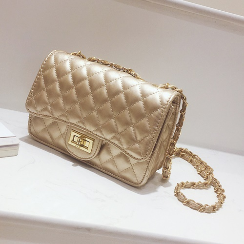 JT8083-gold Clutch Bag Fashion Import Wanita Elegan