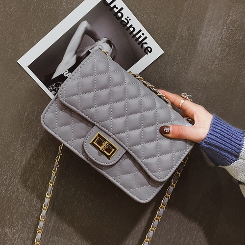 JT8083-gray Clutch Bag Fashion Import Wanita Elegan