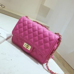 JT8083-rose Clutch Bag Fashion Import Wanita Elegan
