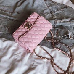 JT80831-pink Tas Selempang Wanita Kekinian Import