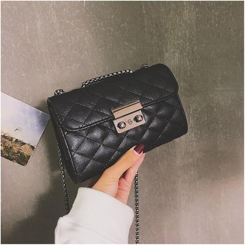 JT8086-black Clutch Bag Selempang Wanita Cantik Import