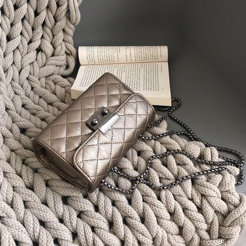 JT8086-gray Clutch Bag Selempang Wanita Cantik Import