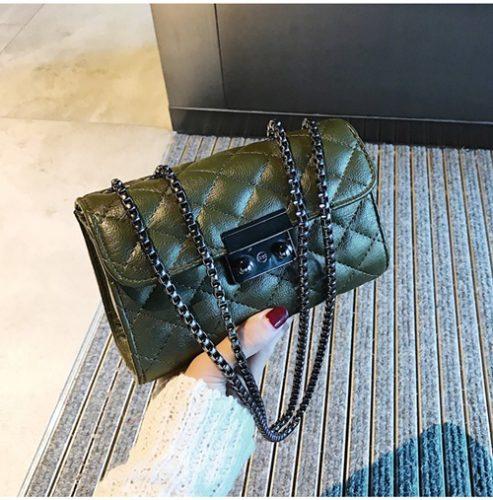 JT8086-green Clutch Bag Selempang Wanita Cantik Import