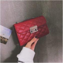 JT8086-red Clutch Bag Selempang Wanita Cantik Import