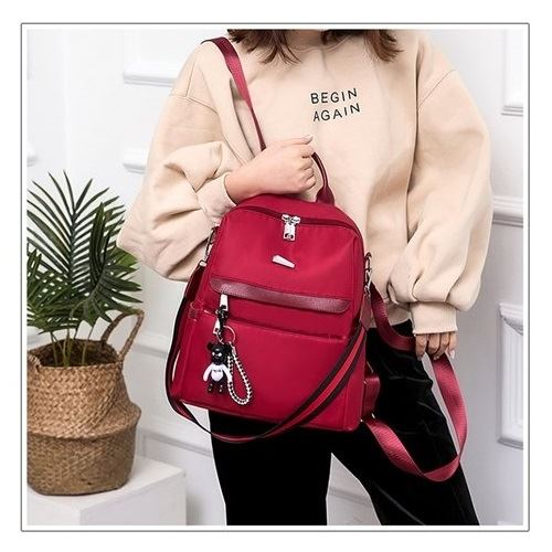 JT8100 IDR.148.000 MATERIAL NYLON SIZE L29XH33XW14CM WEIGHT 550GR COLOR RED