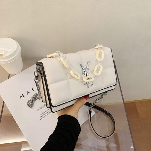 JT8132-beige Tas Selempang Fashion Import Wanita Cantik