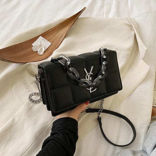 JT8132-black Tas Selempang Fashion Import Wanita Cantik