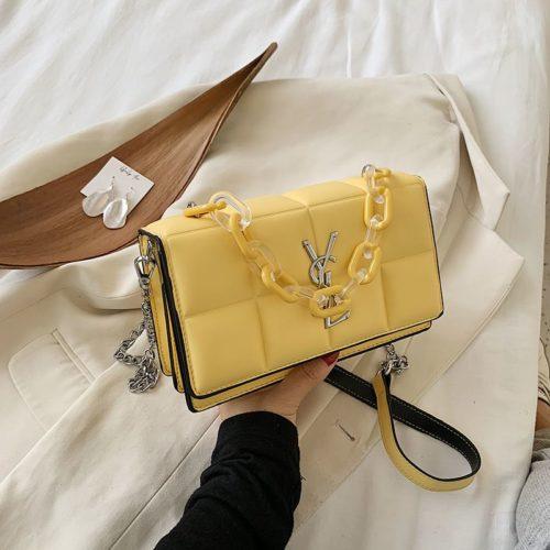 JT8132-yellow Tas Selempang Fashion Import Wanita Cantik