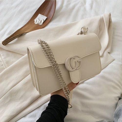 JT8133-beige Tas Selempang Fashion Import Elegan Wanita