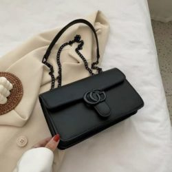 JT8133-black Tas Selempang Fashion Import Elegan Wanita