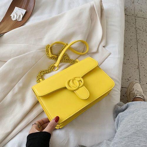 JT8133-yellow Tas Selempang Fashion Import Elegan Wanita