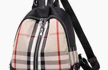 JT813403-khaki Tas Ransel Trendy Fashion Wanita Cantik