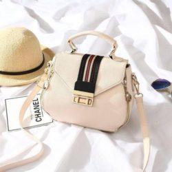 JT81345-beige Tas Selempang Fashion Import Wanita Cantik