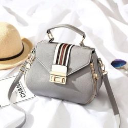 JT81345-gray Tas Selempang Fashion Import Wanita Cantik