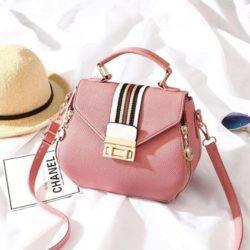 JT81345-pink Tas Selempang Fashion Import Wanita Cantik