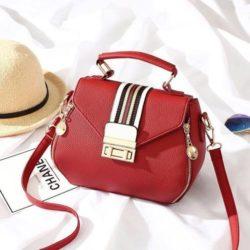 JT81345-red Tas Selempang Fashion Import Wanita Cantik