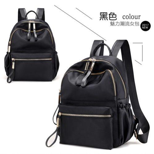 JT813479-black Tas Ransel Travel Fashion Import Wanita