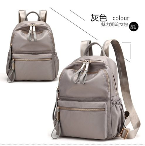 JT813479-gray Tas Ransel Travel Fashion Import Wanita