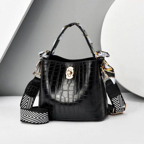 JT8151-black Tas Selempang Fashion Wanita Cantik Import