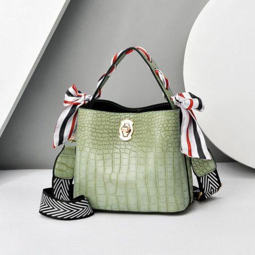 JT8151-green Tas Selempang Fashion Wanita Cantik Import