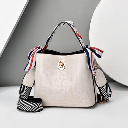 JT8151-white Tas Selempang Fashion Wanita Cantik Import