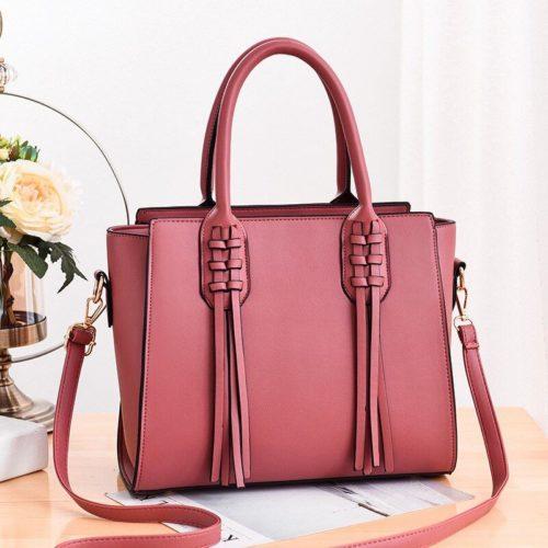 JT8160-pink Tas Selempang Wanita Cantik Kekinian Import